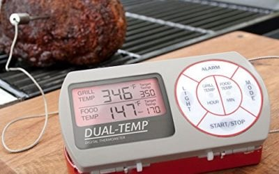 Charcoal Companion Dual-Temp Digital Thermometer