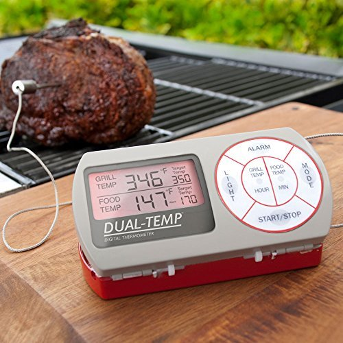 Charcoal Companion Dual Temp Digital Thermometer CC4076