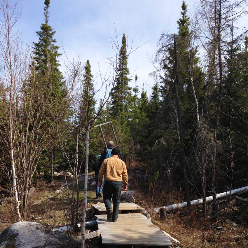 5.01.2017.spring Trail Walk Wilderness