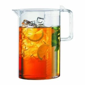Bodum 1470 10, Ceylon Ice Tea Jug With Filter, 1.5 L, 51 Oz., Clear