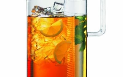 Bodum 1470-10, Ceylon Ice Tea Jug with Filter, 1.5 l, 51 oz., Clear