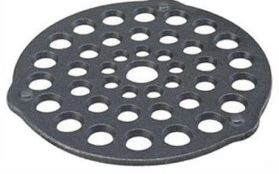 Lodge L8DOT3 Pre-Seasoned Cast-Iron Meat Rack/Trivet 8-inch New