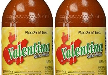 Valentina Salsa Picante Mexican Hot Sauce – 12.5 oz. (Pack of 2)