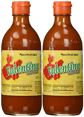 Valentina Salsa Picante Mexican Hot Sauce 12.5 Oz. (Pack Of 2)