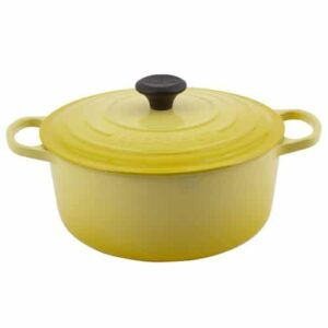 Le Creuset Signature Enameled Cast Iron 5 1/2 Quart Round French Oven
