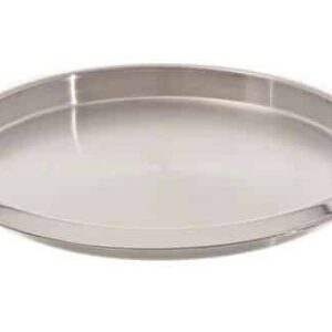 American Metalcraft SSBT14 Stainless Steel Round Bar Tray, 14 Inch
