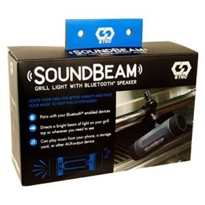 Charcoal Companion SoundBeam Bluetooth Speaker And Grill Light