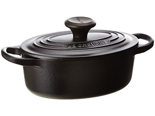 Le Creuset Signature Enameled Cast Iron 1 Quart Oval French Oven