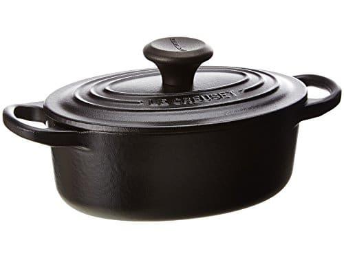 le creuset signature enameled cast iron 1 quart oval french oven umami. Black Bedroom Furniture Sets. Home Design Ideas