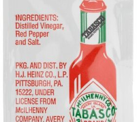Tabasco Pepper Sauce, 0.11-Ounce Single Serve Packages (Pack of 200)