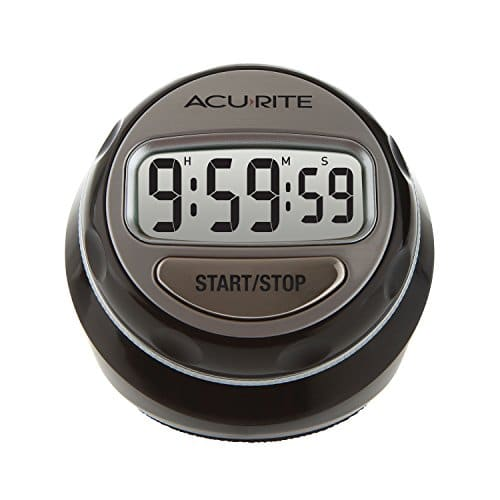 AcuRite 00285E Digital Twist Timer, Multicolor