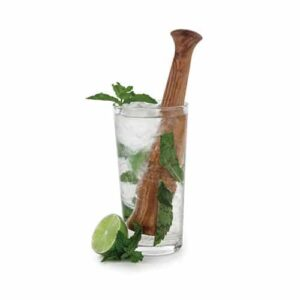 Old Kentucky Home Acacia Wood Muddler By Twine – Beech Hardwood Cocktail And Drink Muddler