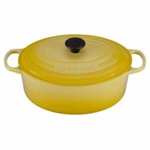 Le Creuset Signature Enameled Cast Iron 6 3/4 Quart Oval French Oven