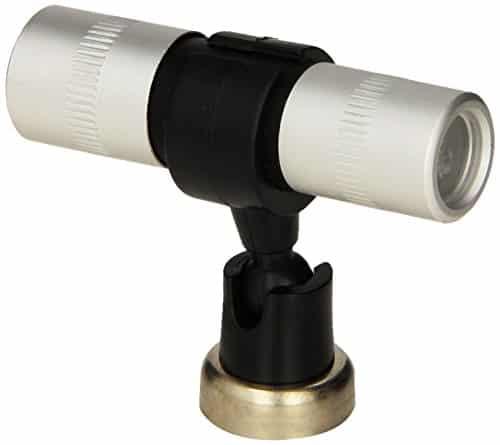 MR. BAR B Q 40260X Magnetic Grill Tool Light, Silver