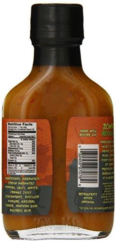 Original Juan Zombie Repellent Apocalyptic Hot Sauce, 3.75 Ounce