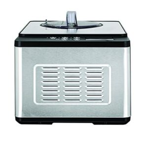 Whynter ICM 200LS Stainless Steel Ice Cream Maker, 2.1 Quart, Silver
