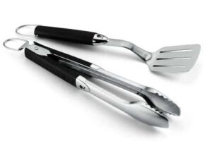 Weber 6645 Original Portable 2 Piece Stainless Steel Tool Set
