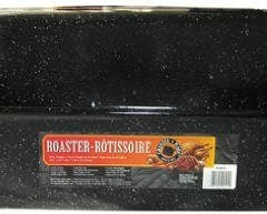 Columbian Home Products 0511 3 Black Rectangular Roaster With Cover, 21 Inch