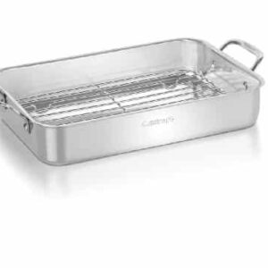 Cuisinart 7117 14RR Lasagna Pan With Stainless Roasting Rack