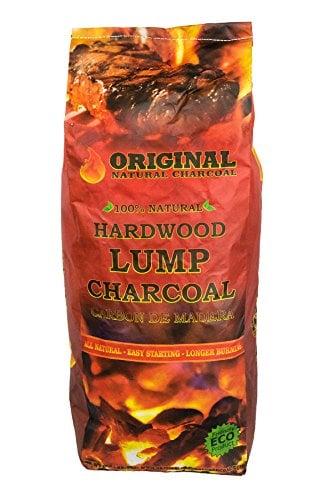 Original Natural Charcoal 17.6 Pound Premium Lump Charcoal Bag