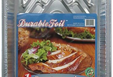 Durable Foil 3-in-1 Roasting Pan, 12-3/4″ x 10-3/8″ x 2-9/16″ (Pack of 12)