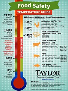 Taylor Precision Products Splash Proof Dual Temperature Infrared/Thermocouple Thermometer