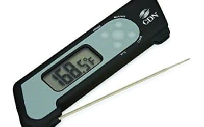 CDN ProAccurate Digital Instant Read Folding Thermocouple Cooking Thermometer-NSF Certified-Green