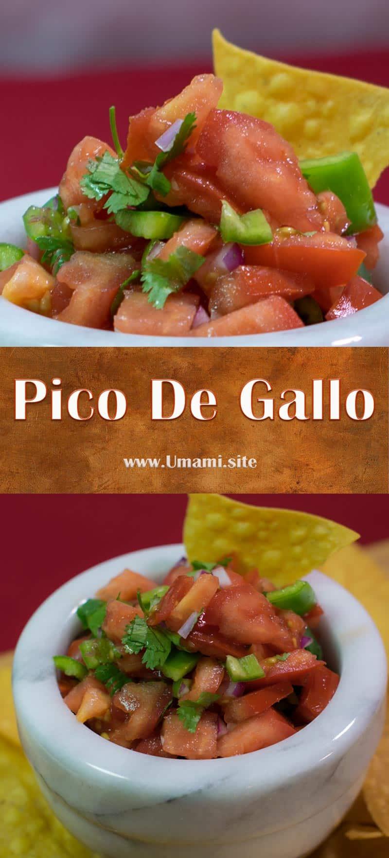 Pico De Gallo Pinterest