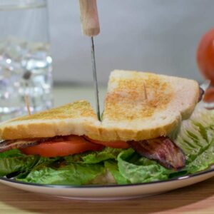 BLT Sandwich Cut