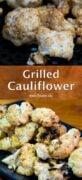 Grilled Cauliflower Pinterest