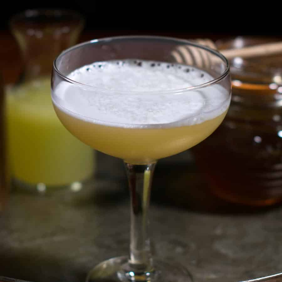 Bees Knees Cocktail Featured