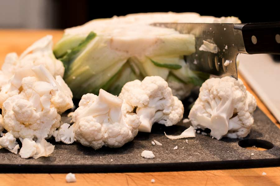 Cutup Cauliflower