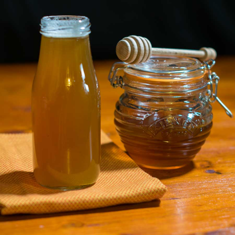 Honey Simple Syrup Featured