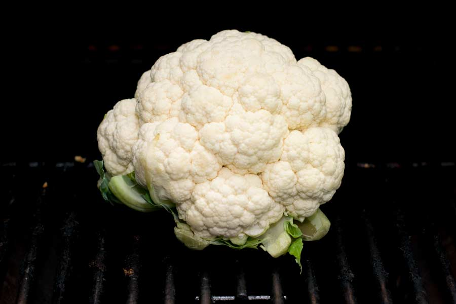 Whole Cauliflower On Grill