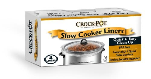Crock Pot Slow Cooker Liners, 24 Liners (6 Packs Of 4 Count)