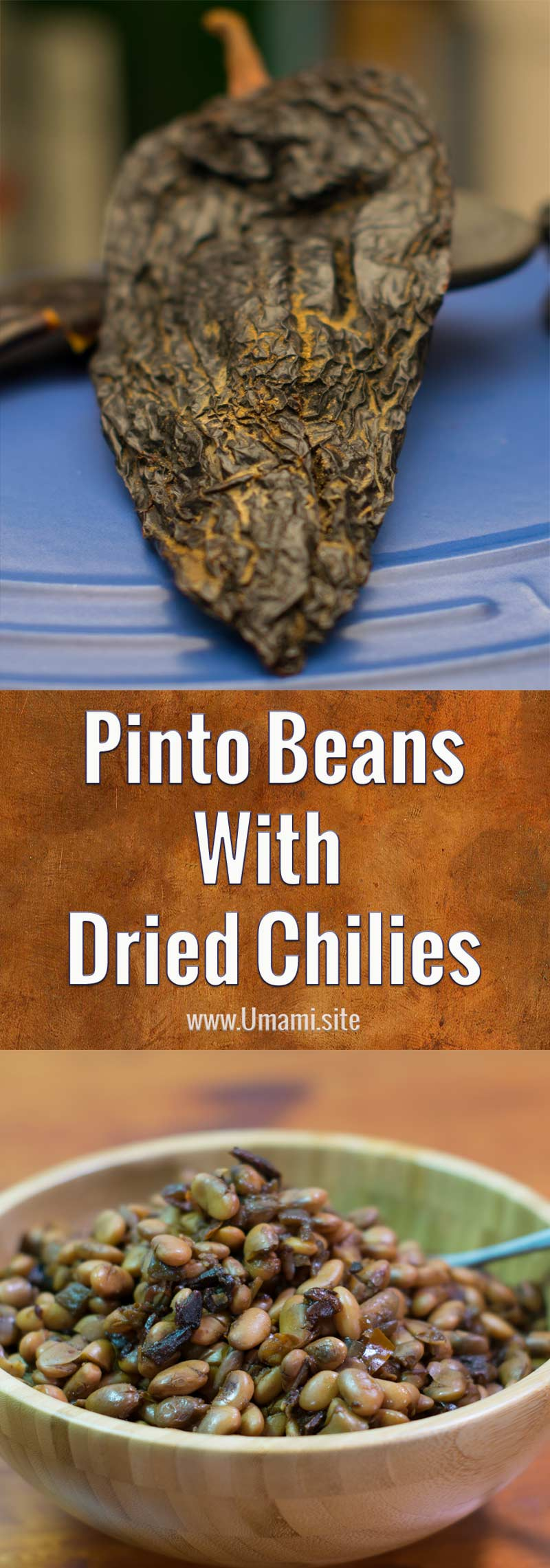 Pinto Beasn With Dried Chilies Pinterest