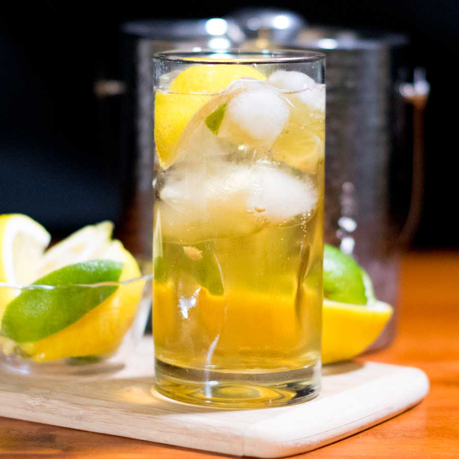 Two Ginger Cocktail Recipe Featured