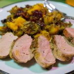 Grilled Pork Tenderloin with Fresh Herbs