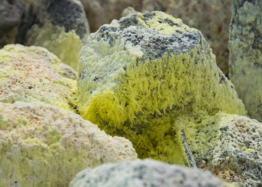 Sulfiric Crystals