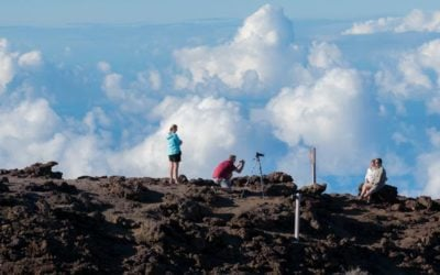 High Above the Clouds at Haleakalā National Park