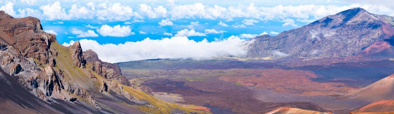 Valley at Haleakala National Park