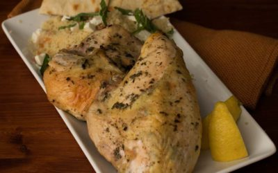 Roasted Greek Chicken Breasts