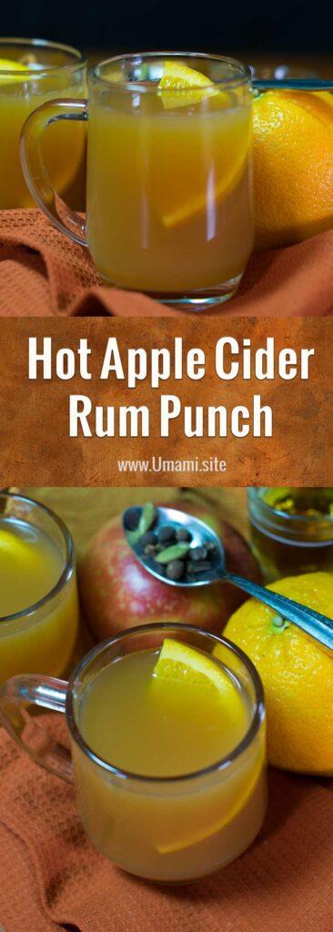 Hot Apple Cider Rum Punch Recipe