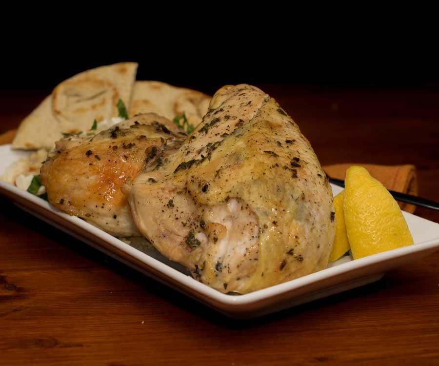 Roasted Greek Chicken Breasts