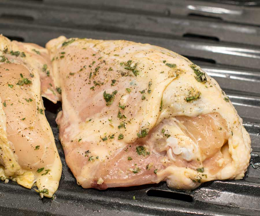 Season Chicken Breasts
