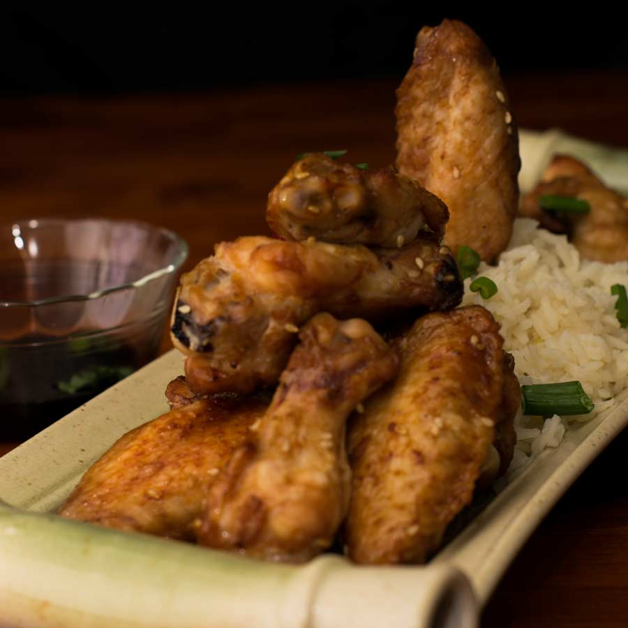 Korean bbq chicken wings umami korean bbq chicken wing recipe featured forumfinder Image collections