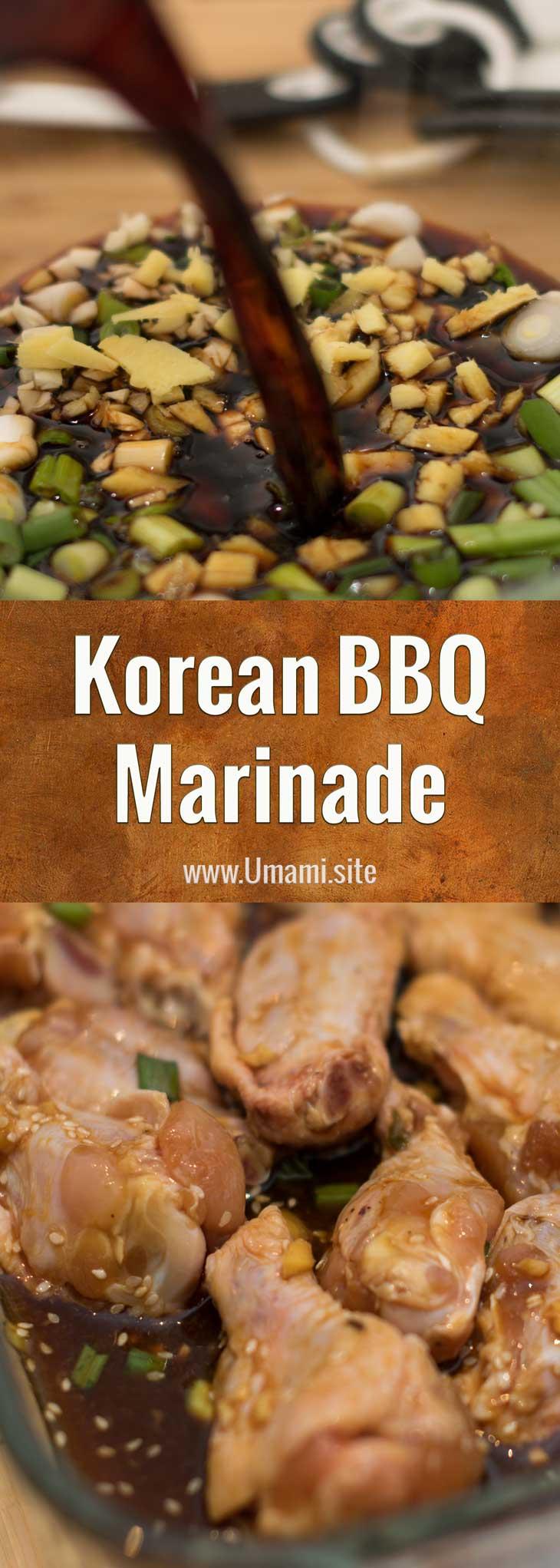 Korean BBQ Marinade Recipe Pinterest