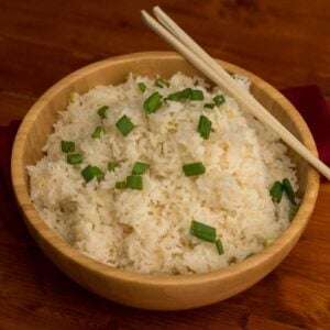White Rice Overhead Featured