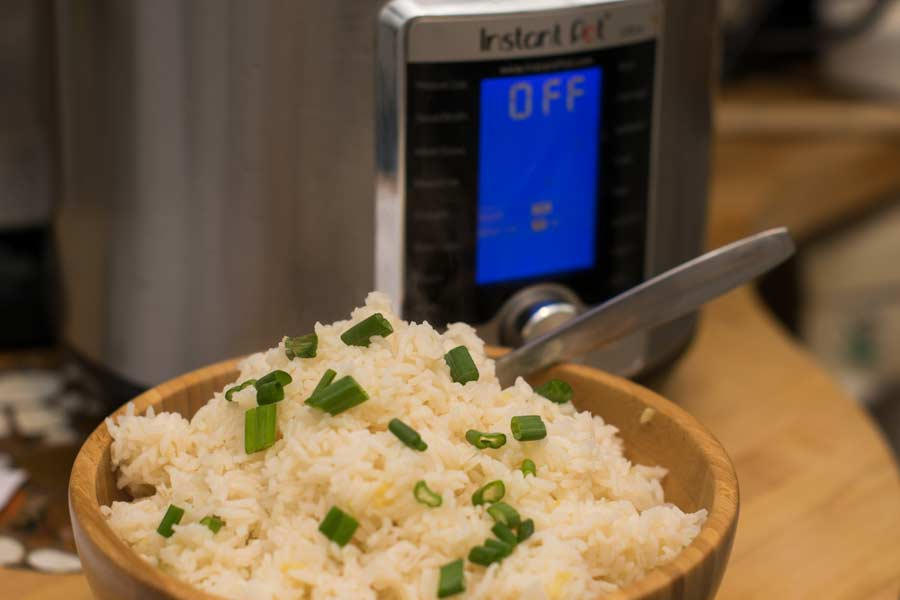 Rice With Instant Pot