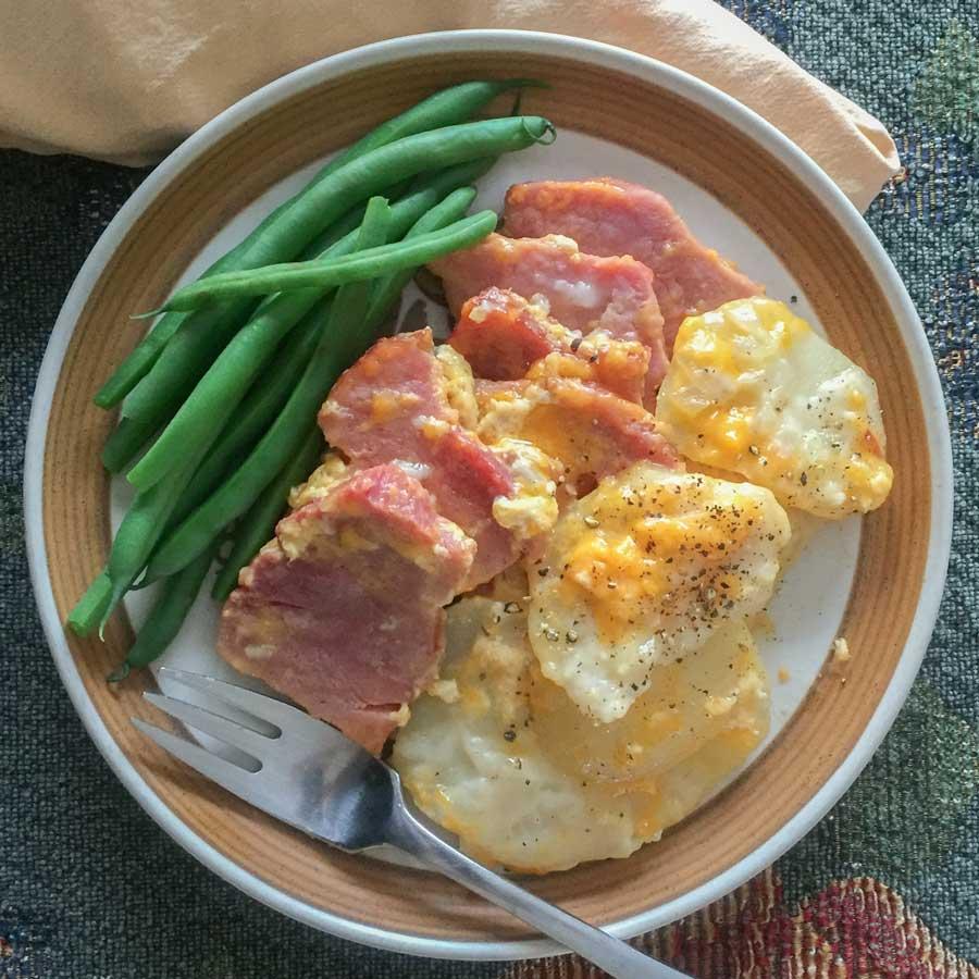 Scalloped Potatoe Recipe Featured